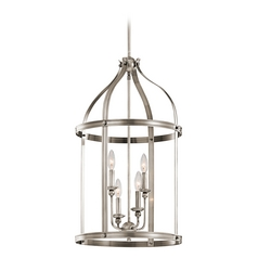 Kichler Lighting Steeplechase Classic Pewter Pendant Light