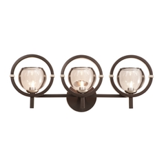 Kalco Lighting Lunaire Old Bronze Bathroom Light