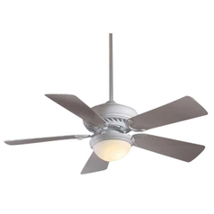 44-Inch Supra Ceiling Fan with Five Blades and Light Kit