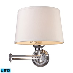 Elk Lighting Westbrook Polished Chrome LED Swing Arm Lamp