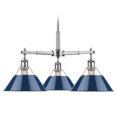 Golden Lighting Orwell Pw Pewter Chandelier
