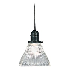 Hudson Valley Lighting Mini-Pendant Light with Clear Glass 3101-OB-45C