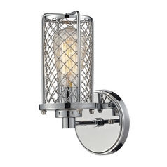 Sconce Wall Light in Polished Chrome Finish