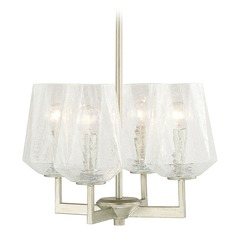 Capital Lighting Arden Brushed Silver Mini-Chandelier