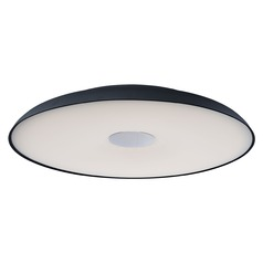ET2 Dimple Black LED Flushmount Light