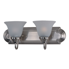 Maxim Lighting Essentials Satin Nickel Bathroom Light
