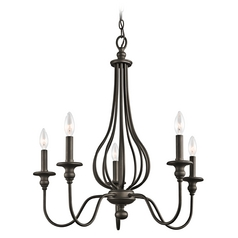 Kichler Chandelier in Olde Bronze Finish