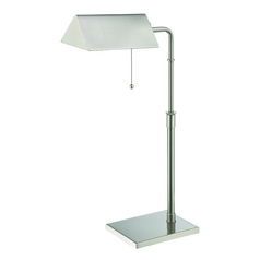 Lite Source Lighting Wayland Polished Steel Desk Lamp