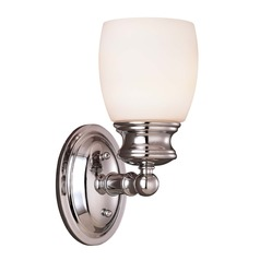 Savoy House Polished Chrome Sconce