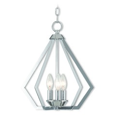 Livex Lighting Prism Polished Chrome Mini-Chandelier