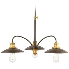 Mid-Century Modern Chandelier Bronze Archives by Progress Lighting