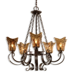 Uttermost Lighting Five-Light Chandelier 21007