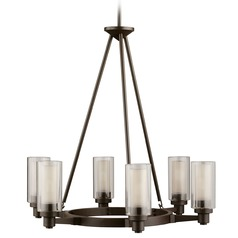 Kichler 6-Light Chandelier in Olde Bronze