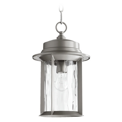 Quorum Lighting Charter Graphite Outdoor Hanging Light