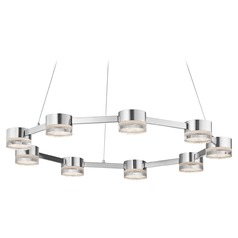 Elan Lighting Avenza Chrome LED Pendant Light
