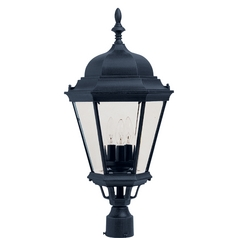 Maxim Lighting Westlake Black Post Light