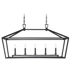 Savoy House Lighting Townsend Matte Black Island Light