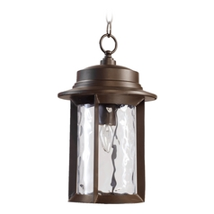 Quorum Lighting Charter Oiled Bronze Outdoor Hanging Light