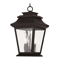 Livex Lighting Hathaway Bronze Outdoor Hanging Light