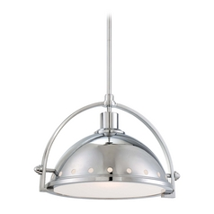 Pendant Light in Chrome Finish