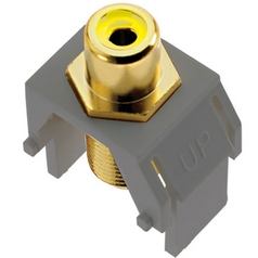 Legrand Adorne Composite Video RCA to F-Connector