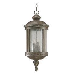 Quorum Lighting Dauphine Etruscan Sienna Outdoor Hanging Light