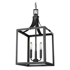 Sea Gull Lighting Labette Black LED Pendant Light