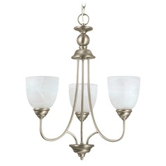 Sea Gull Lighting Lemont Antique Brushed Nickel LED Mini-Chandelier