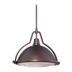 Pendant Light in Brushed Bronze Finish