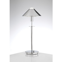 Holtkoetter Modern Table Lamp in Chrome Finish