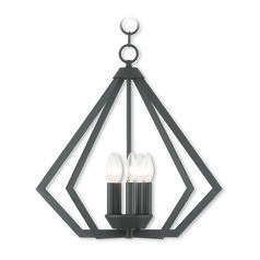 Livex Lighting Prism Bronze Chandelier