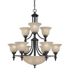 Dolan Designs Lighting Twelve-Light Chandelier 664-78