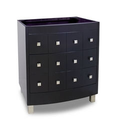 Hardware Resources Bathroom Vanity in Espresso Finish VAN076