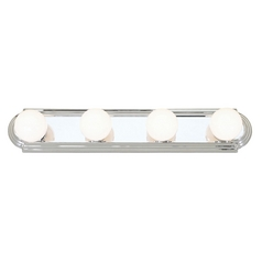 Livex Lighting Chrome Bathroom Light