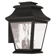 Livex Lighting Hathaway Black Outdoor Wall Light