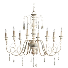 Cyan Design Chantal Parisian Blue Chandelier