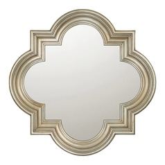 Capital Lighting Winter Gold Square Mirror 34x34