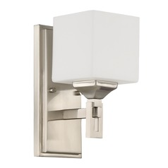 Craftmade Lighting Urbane Brushed Polished Nickel Sconce