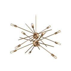 Elk Lighting Xenia Matte Gold Chandelier