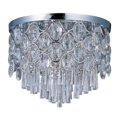 Maxim Lighting Jewel Chrome Flushmount Light