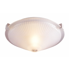 Lite Source Lighting Sanddollar Frost Flushmount Light