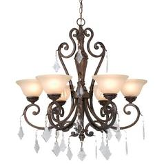 Dolan Designs Six-Light Chandelier 2270-90