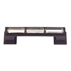 Modern Cabinet Pull in Black Finish