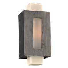 PLC Lighting Pema Antique Silver Outdoor Wall Light
