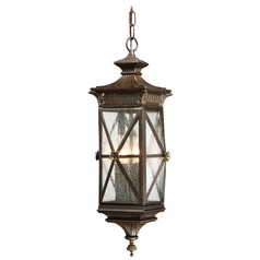 Minka Rue Vieille Forged Bronze Outdoor Hanging Light