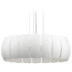 Elan Lighting Osk White LED Pendant Light