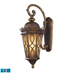 Elk Lighting Burlington Junction Hazlenut Bronze LED Outdoor Wall Light