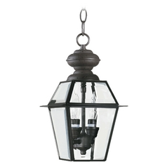 Quorum Lighting Duvall Bronze Outdoor Hanging Light