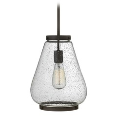 Hinkley Lighting Finley Oil Rubbed Bronze Mini-Pendant Light with Urn Shade