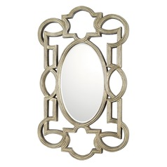 Capital Lighting Antique Silver Oval Mirror 42x26